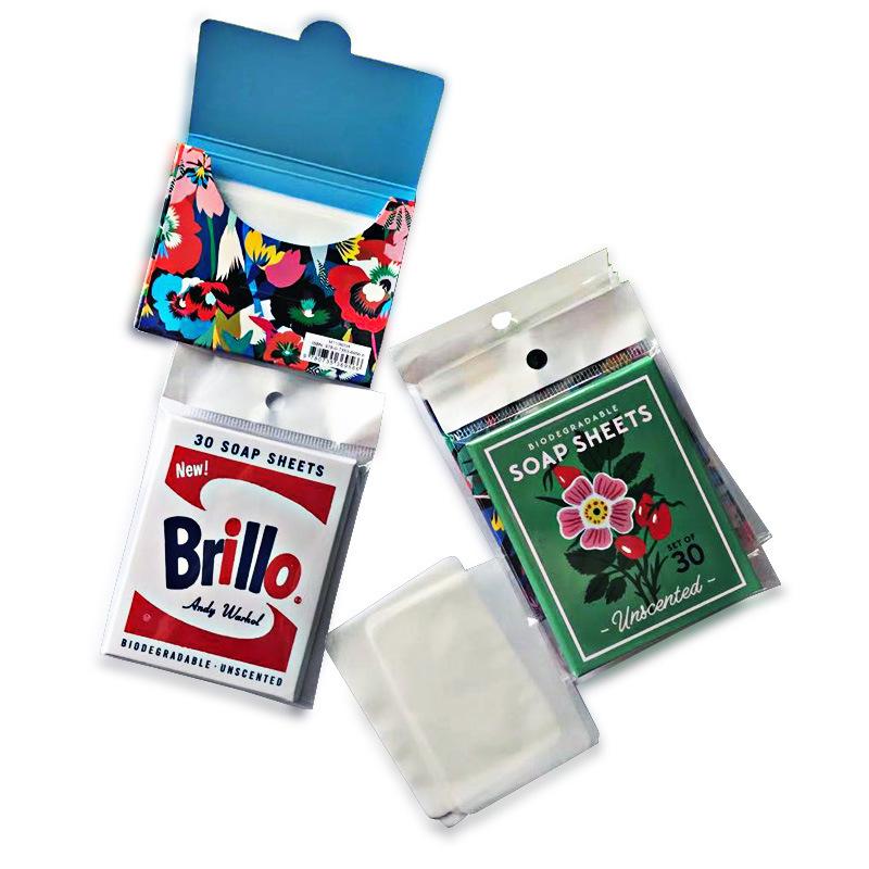 OEM soap, 20 translucent Jasmine soap, 50 cross border paper soap, customized